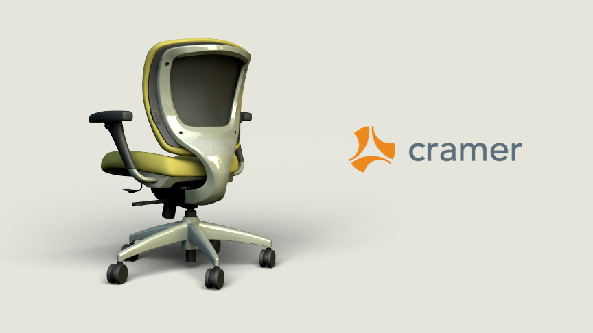 Ever Chair Render