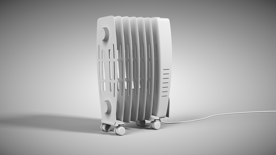 Thermal Squire Radiator Model Rear